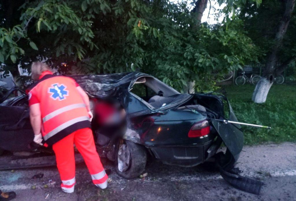 ВБричанах произошла авария. Погиб 17-летний местный житель