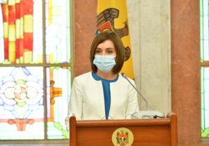 Санду выступила наоткрытии Международной конференции, посвященной борьбе снасилием
