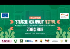 """""""Strășeni, mon amour"""" – primul Festival dedicat serviciilor publice de calitate. Activități, expoziții, discuții, eco-iarmaroc, odihnă și formația Zdob și Zdub"""