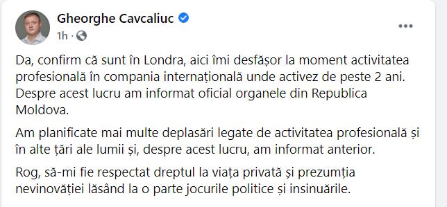 Cavcaliuc, înjurat în stradă de un moldovean. Liderul PACE confirmă că se află la Londra (VIDEO)