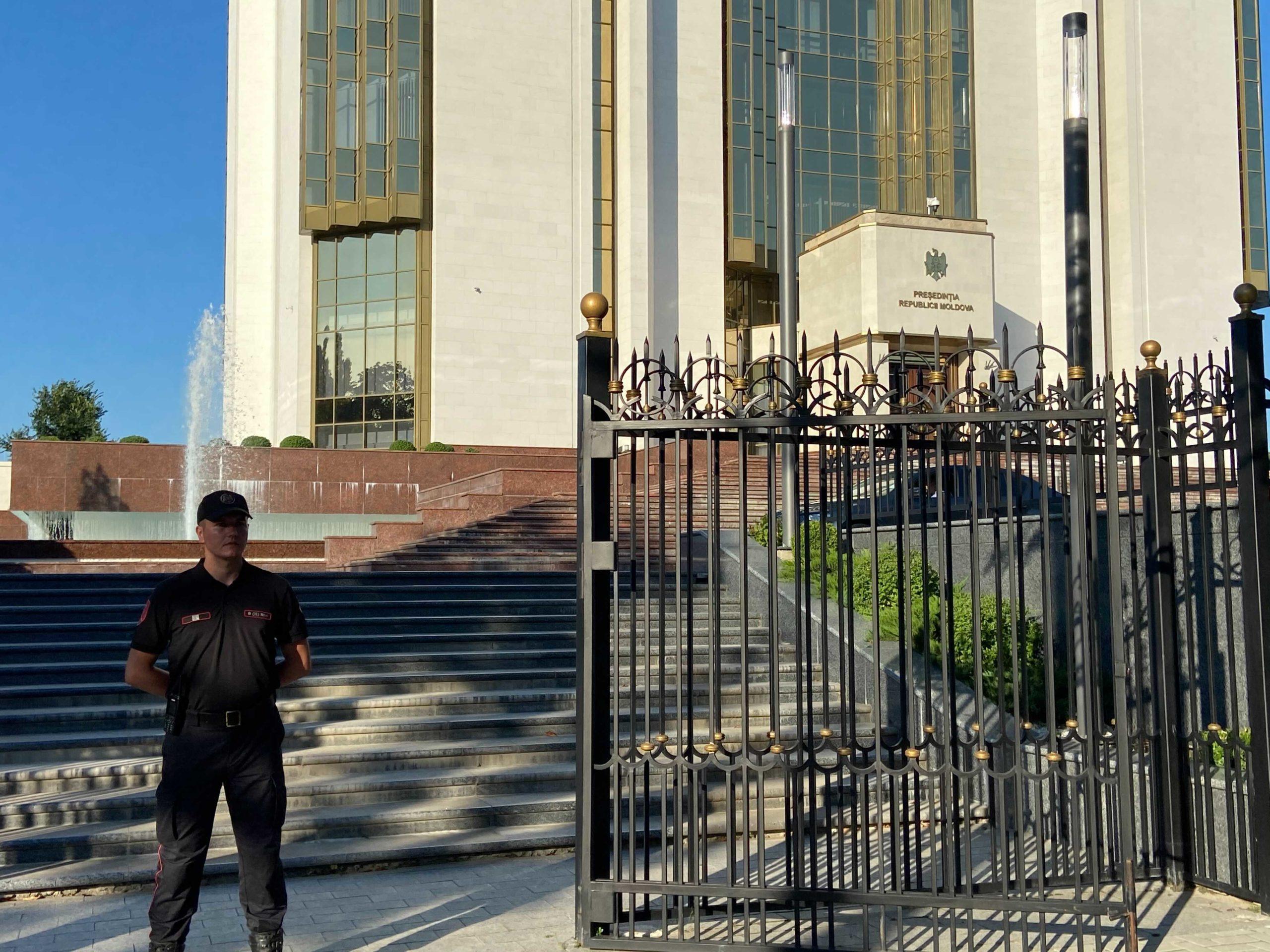 Дмитрий Козак прибыл в Кишинев (ФОТО)