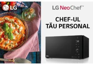 LG: Simțiți-vă ca un bucătar profesionist cu LG NeoChef