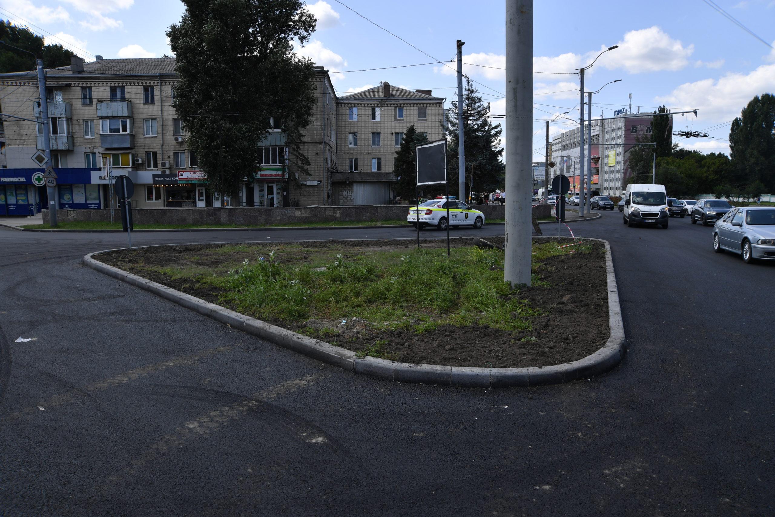 Как продвигается ремонт улицы Крянгэ вКишиневе. Фоторепортаж NM