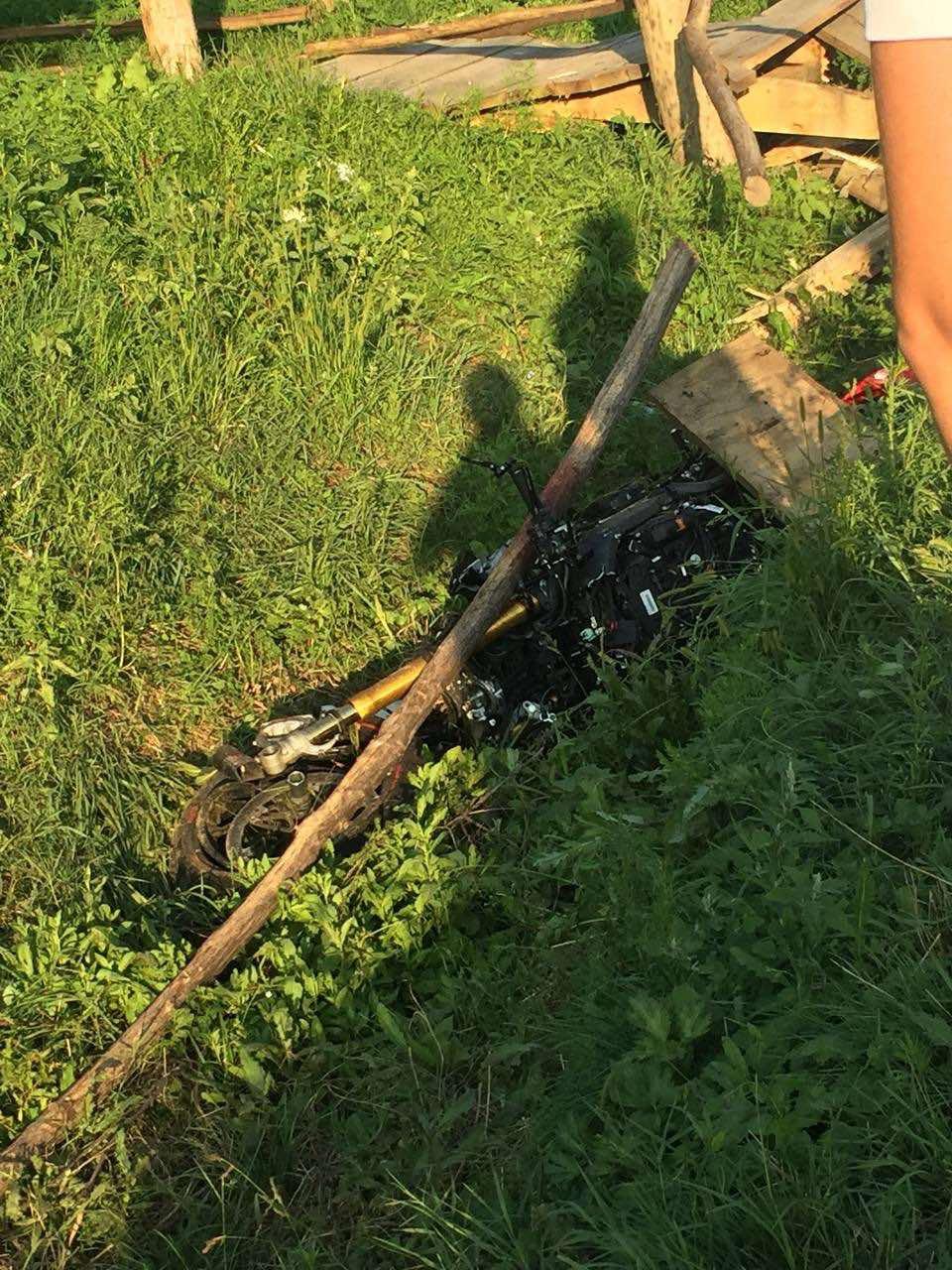 ВКалараше мотоциклист лишился ноги врезультате аварии (ФОТО)