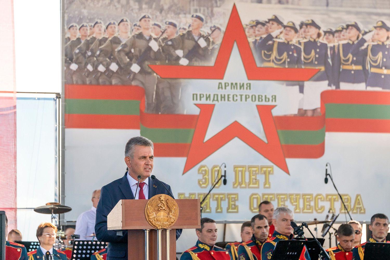 «Неисключаю силовые варианты разрешения приднестровского вопроса». Красносельский выступил наюбилее приднестровской армии