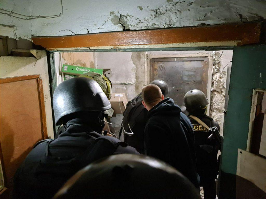 ВКишиневе полиция задержала мужчину, захватившего взаложники двух человек (ФОТО)