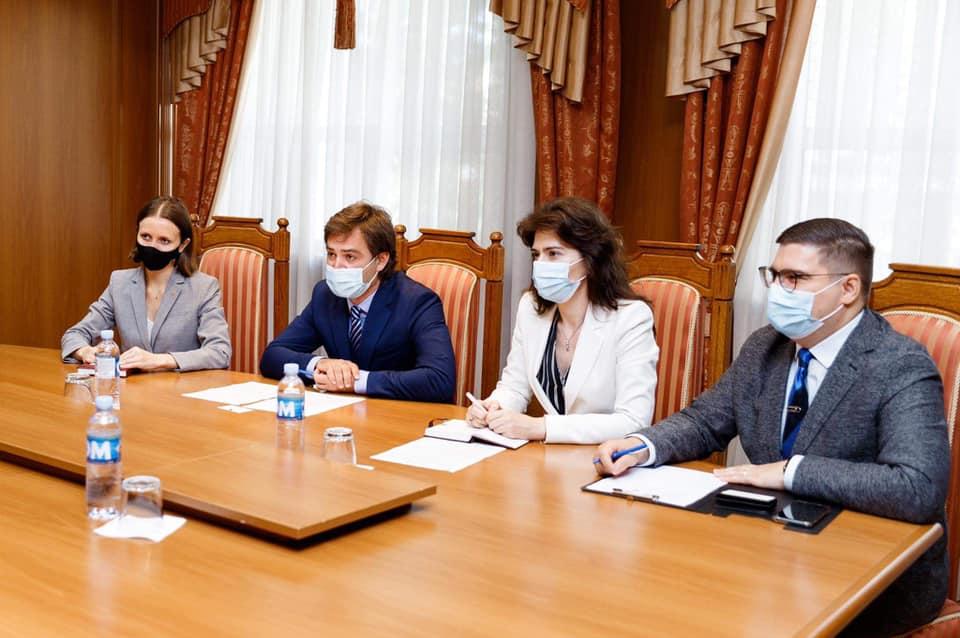 Noul ambasador al UE în Moldova s-a întâlnit pentru prima oară cu ministrul de Externe Nicu Popescu (FOTO)