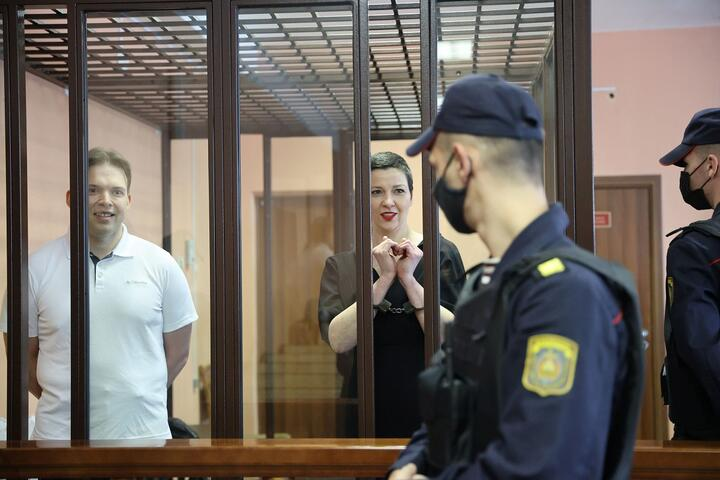Opozanta Maria Kolesnikova din Belarus a fost condamnată la 11 ani de închisoare (FOTO)