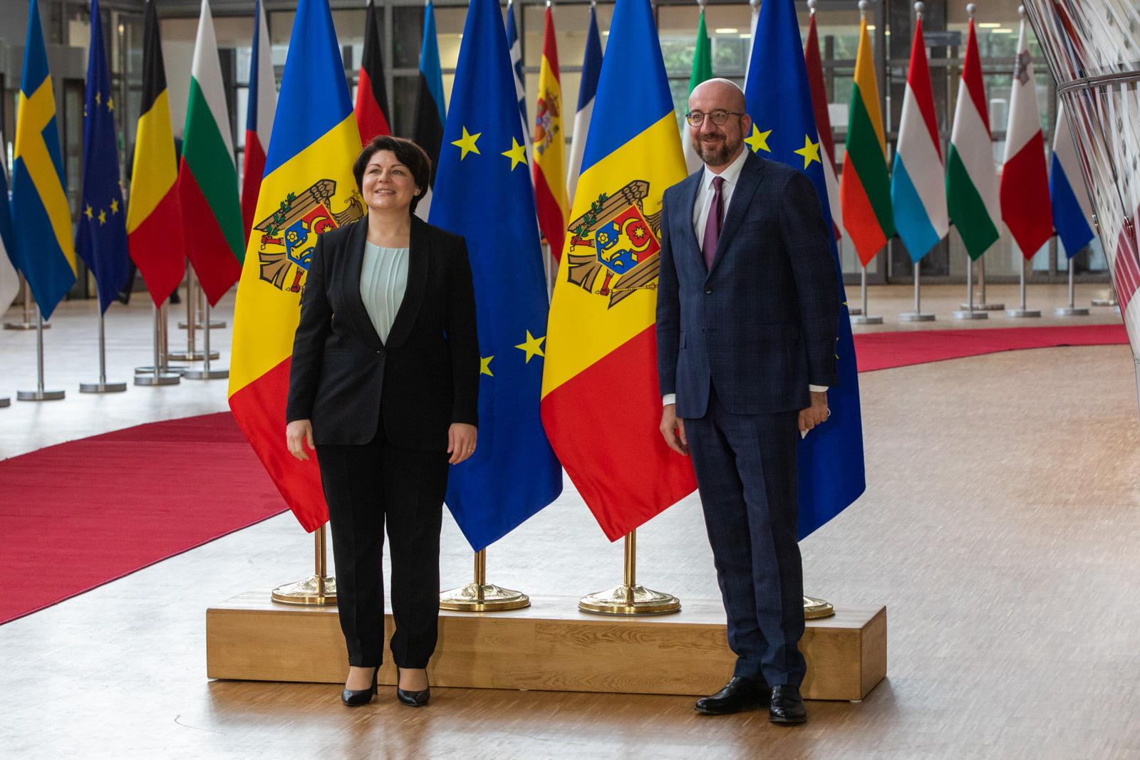 ЕСпередаст Молдове €50 млн макрофинансовой помощи. Что еще обсудила Гаврилица вБрюсселе