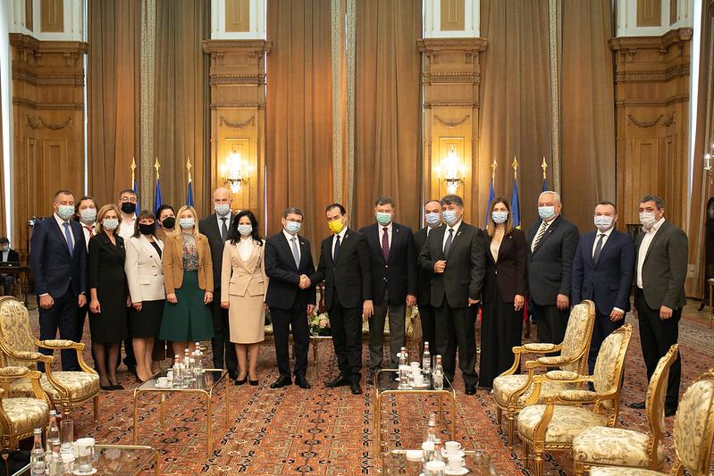 Delegația parlamentară a Moldovei s-a întâlnit cu conducerea Camerei Deputaților a Parlamentului României (FOTO)