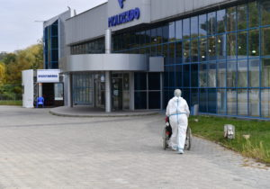 ВКишиневе вковид-центре наMoldExpo пациент совершил самоубийство