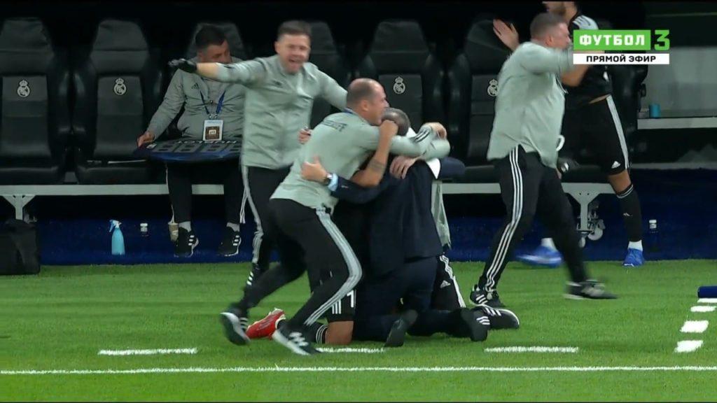 Тираспольский «Шериф» сенсационно обыграл «Реал» в Мадриде