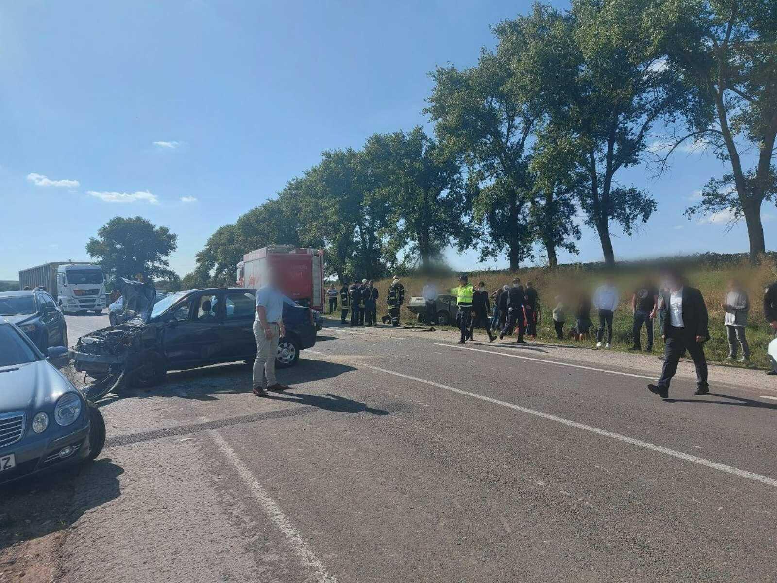 ВЕдинецком районе произошла авария. Погиб один человек (ФОТО)