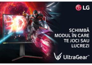 LG: Schimbă modul în care te joci sau lucrezi cu monitorul UltraGear
