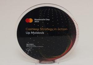 Up Moldova a obținut premiul Mastercard pentru promovarea plaților fără numerar în Moldova