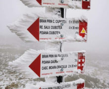 Врумынских Карпатах зарегистрировали самую низкую температуру вЕвропе. Часть Трансфэгэшаштского шоссе завалило снегом (ВИДЕО)