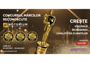 Avantajele participării în Concursul Mărcilor Recunoscute Notorium Trademark Awards 2021