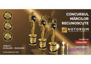 Ultimele zile de înscriere a mărcilor comerciale în concursul NOTORIUM Trademark Awards