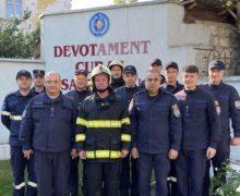 Обливания и сирены. Как вМолдове пожарных провожают напенсию (ВИДЕО)