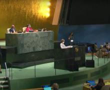 «Начинаем превращать надежды вреальность». Очем Санду говорила наГенассамблее ООН