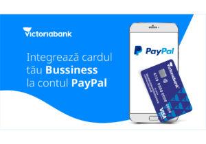 PayPal Business – în premieră în Republica Moldova, doar la Victoriabank