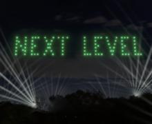 Next Level.100 дронов иавиашоу отmaib. Прямая трансляция (ВИДЕО)