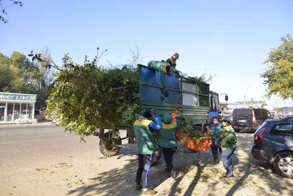 Сколько мусора собрали входе уборки русла реки Бык вКишиневе (ФОТО)
