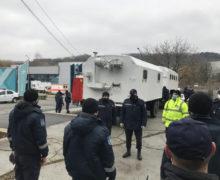 Спасатели установят пост возле коронавирусного центра наMoldexpo