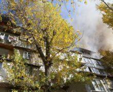 Почему загорелась мансарда жилого дома вКишиневе? Первые версии пожарных
