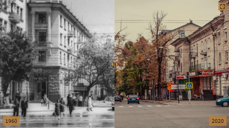 Atunci și acum. Expoziție virtuală prin Chișinău, prezentată de hramul orașului (FOTO)
