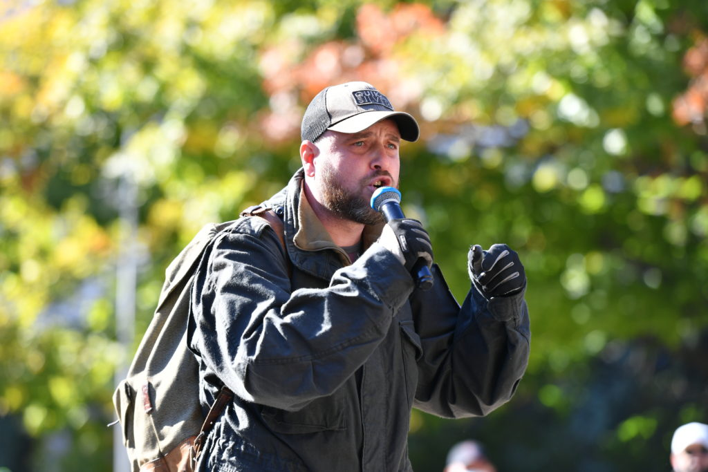 Как протест в защиту Стояногло превратился в политическую акцию против PAS. Репортаж NM