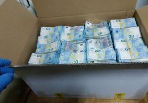 Captura de peste 1,6 milioane de euro depistată la vama Leușeni, confiscată la bugetul de stat