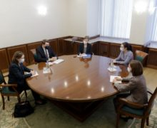 Санду обсудила газовый кризис вМолдове спредставителем МИД Германии