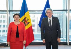 Гаврилица обсудила признание молдавских сертификатов овакцинации севрокомиссаром поделам внутреннего рынка ЕС