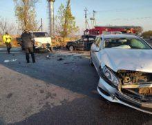 Accident cu implicarea a trei automobile la Rîșcani. O persoană a decedat