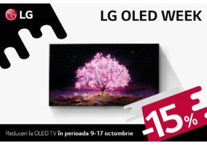 LG: OLED WEEK – o săptămână întreagă cu reduceri la OLED TV