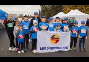 «Будущие банкиры» из Moldindconbank — в числе победителей Kids Run Day