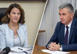Reprezentanta Secretarului de Stat al SUA pentru Europa Centrală și de Est s-a întâlnit cu liderul regiunii transnistrene